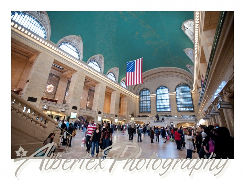 Grand Central Station in New York City by green screen and event photographer Albertex Photography