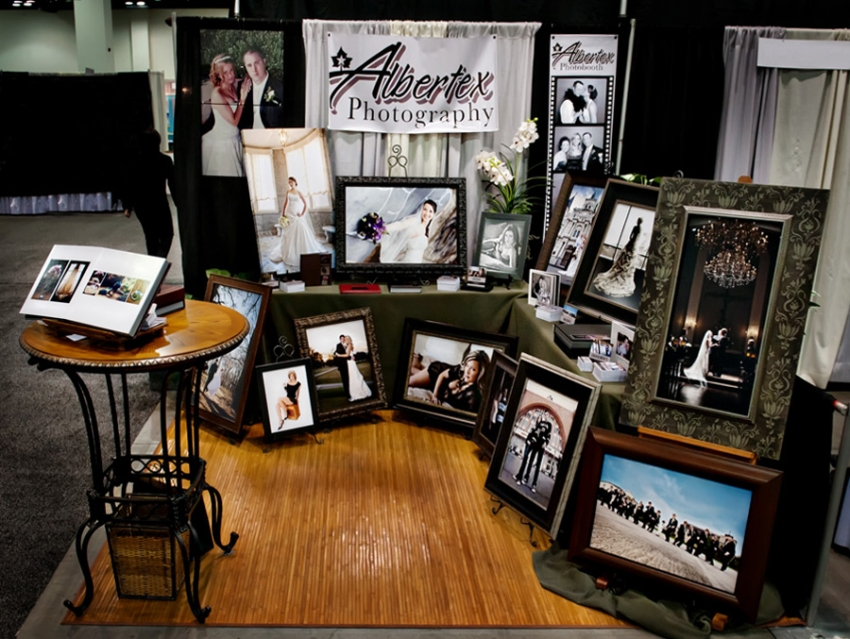 Albertex Photography Star-Telegram Bridal Show with photo booth photobooth special