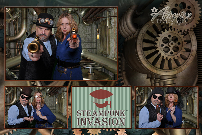 Steampunk Photobooth from Albertex Photography