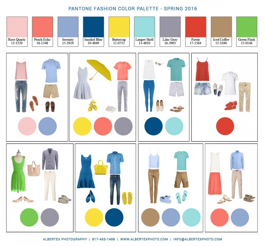 2016 Spring Clothing Guide