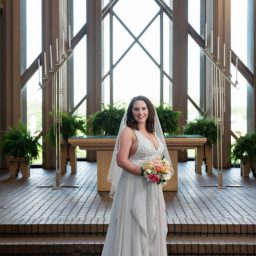 Caitlin's Bridals at Marty Leonard Chapel by DFW Dallas Fort Worth Wedding Photographyers Bill Tanya Vahrenkamp Albertex Photography